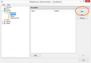 hmailserver-accout-setup