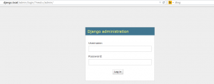 django-administration